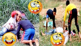 Village Boys Fun & Comedy-op Funny Bangla Videos Collection 2018-naichai tv