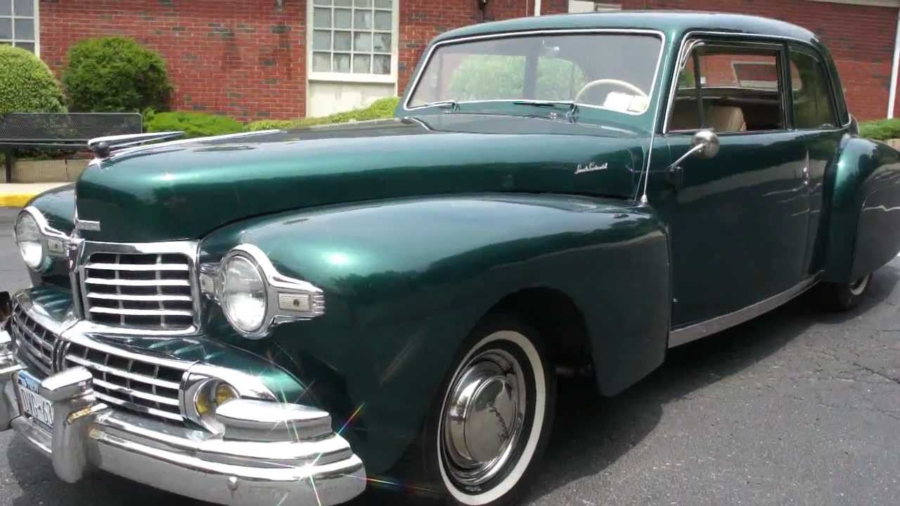 Sold 1948 Lincoln Continental For Sale Power Windows