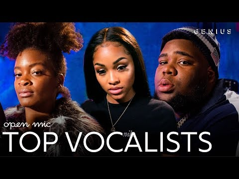 The Top Vocalists On 'Open Mic'   Genius