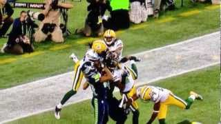 Ridiculous Call at Greenbay Packers vs Seattle Seahawks Game HD 9/24/12 - akaviking14