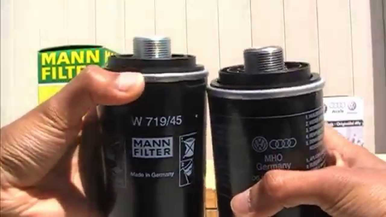 The Best Oil Filter For Your Audi Youtube