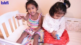 Candy Chocolate Sweets show with Ishfi & Rufi | Learn Colors Video for Kids