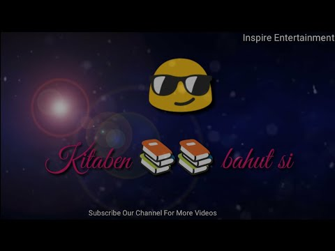 Kitaben Bahut Si Padhi Hongi Tumne Song with Lyrics, Baazigar, Best WhatsApp status video