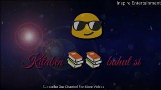 Kitaben Bahut Si Padhi Hongi Tumne Song with Lyrics, Baazigar, Best WhatsApp status video