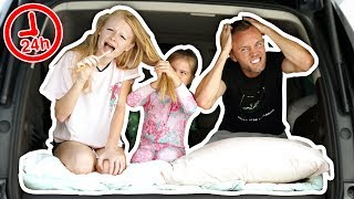 24 HOURS LIVING IN A CAR IN DUBAI! *overnight challenge*
