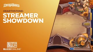 BlizzConline 2021 - Hearthstone: Streamer Showdown