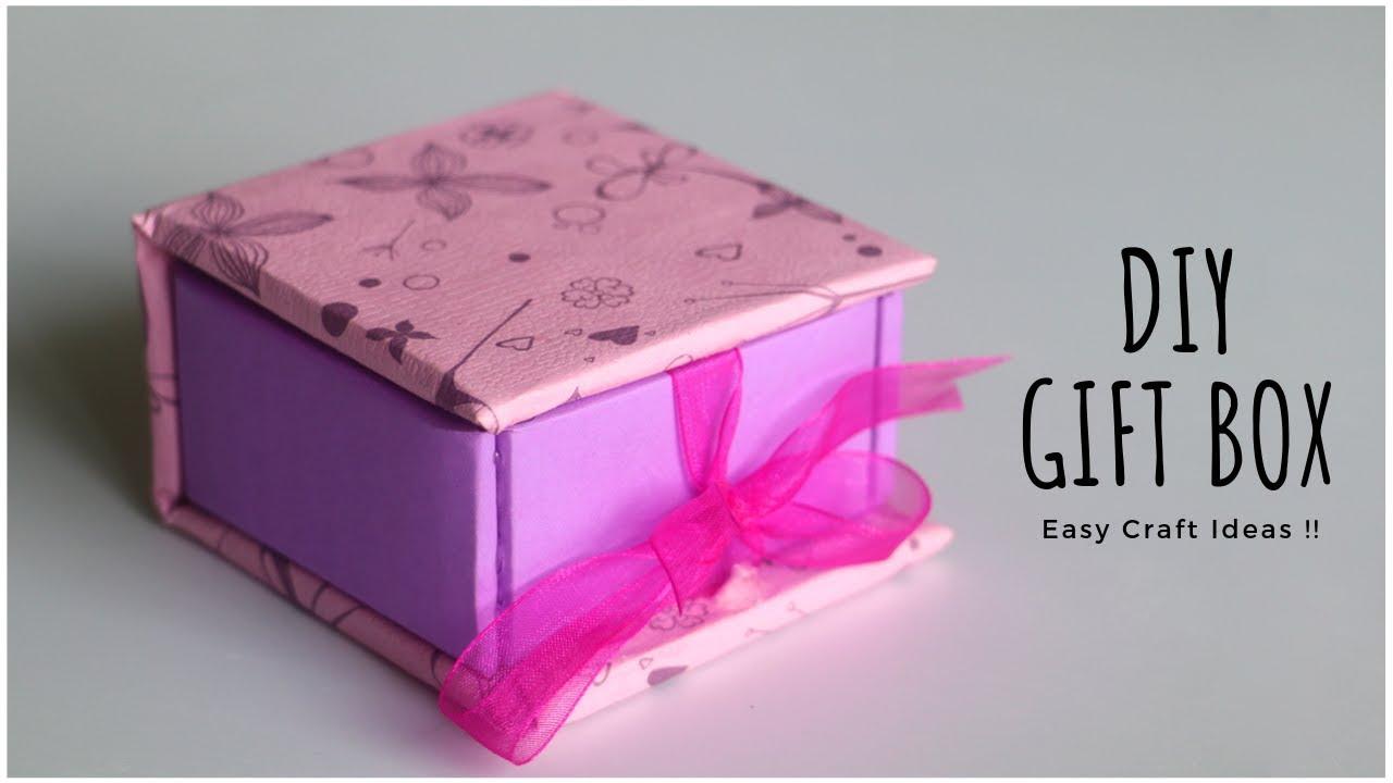 DIY Gift Box | Paper Crafts | Cardboard Crafts | Handmade ...