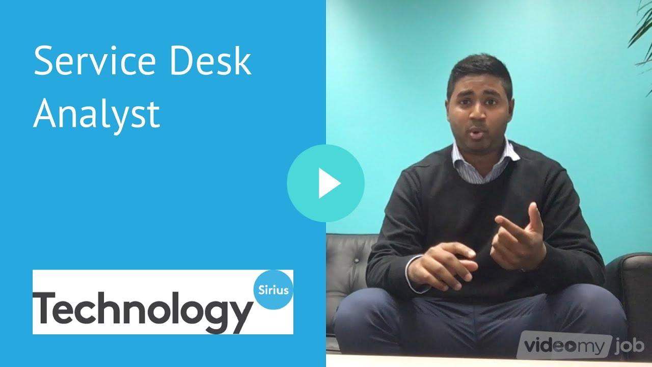 Service Desk Analyst   YouTube