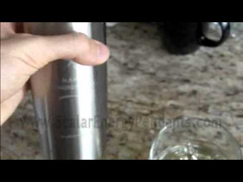 Alkaline Water Bottle PH Test - Actual Proof!