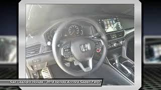 2018 Honda Accord Fremont Ca 41001 thumbnail