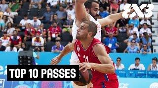 Top 10 Passes 2015 - FIBA 3x3