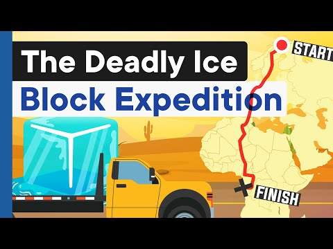 Taking Ice through the Sahara Desert: The $48 Mil. Challenge