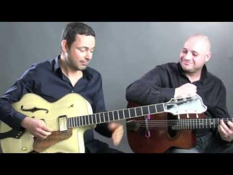Paquito  Robin Nolan  Kevin Nolan  Gypsy Jazz Guitar