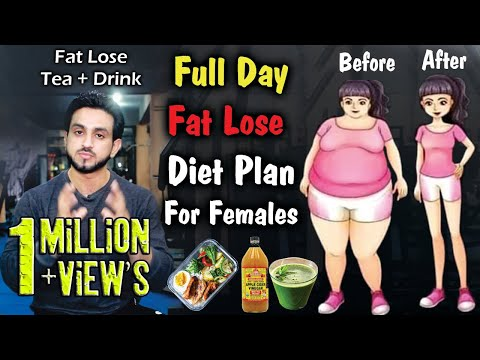 Fat loss Diet Plan For Female Urdu Hindi