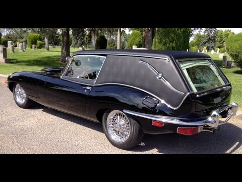 Jaguar Hearse from Harold and Maude