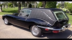 Recreation of the Jaguar Hearse from Harold and Maude