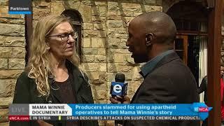 The #Winnie doccie producer speaks to eNCA