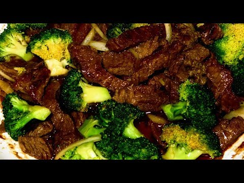 Beef Broccoli In Oyster Sauce Youtube