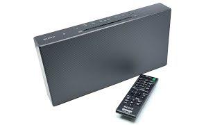Sony Personal Audio System CMT-X3CD Black (CD - USB - FM) | Unboxing【4K】