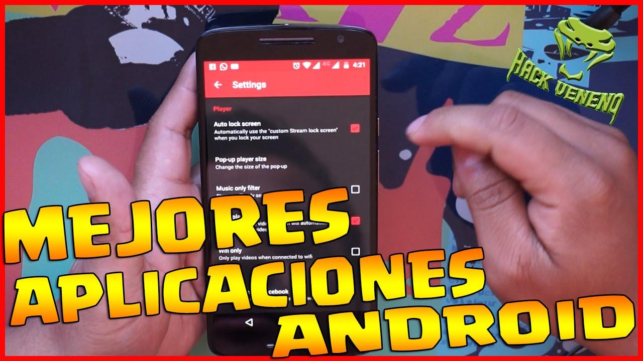 Download Top 6 Mejores Aplicaciones Para Tu Android GRATIS 2016 # 3 | Hack Veneno