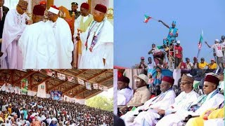 President Buhari Flags off APC Presidential Campaign Rally in Maiduguri, Borno State 21st Jan. 2019