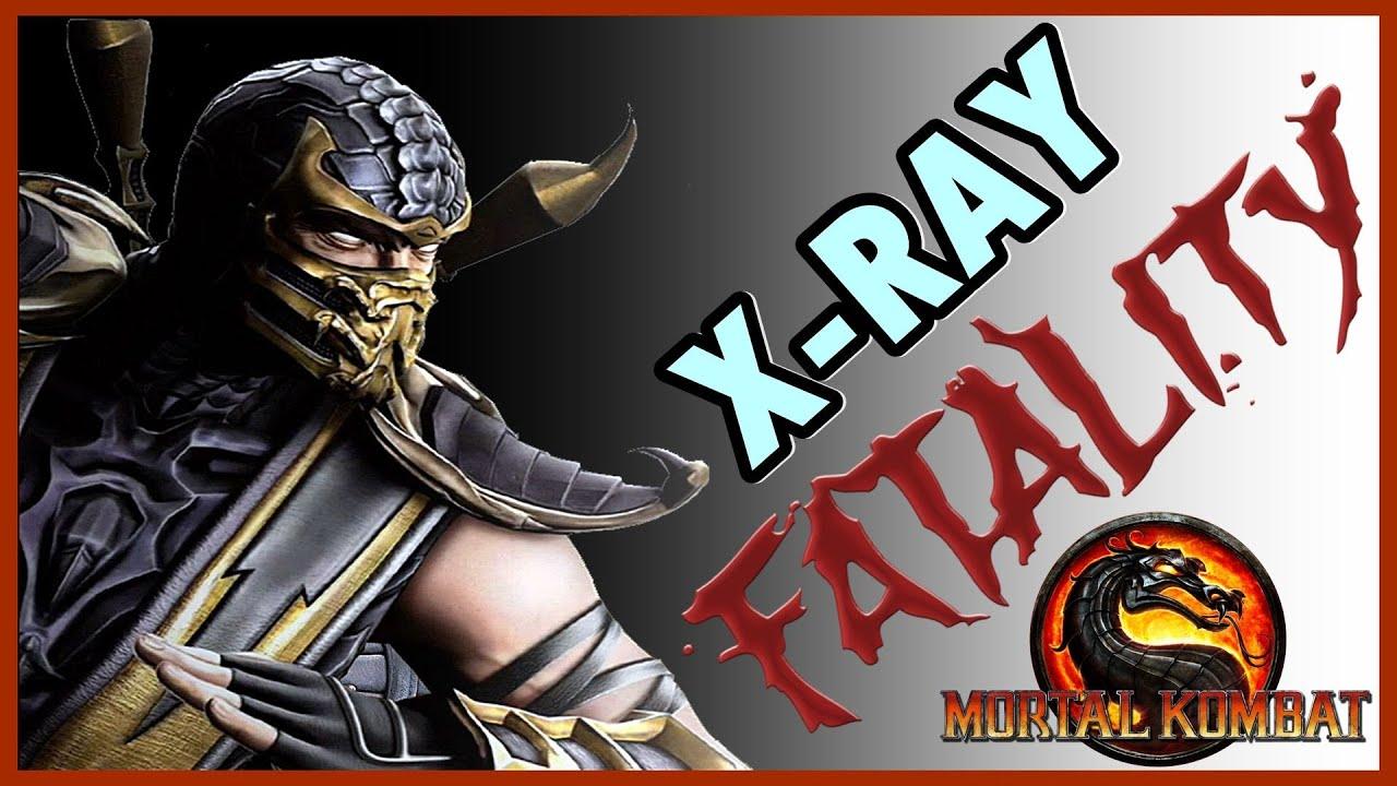Mortal Kombat 9 Komplete Edition ( PS3 ) : Scorpion ( Fatalities + X-RAY )