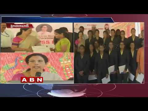 Nara Bhuvaneswari Gifts to NTR College students who got top ranks in CLAT