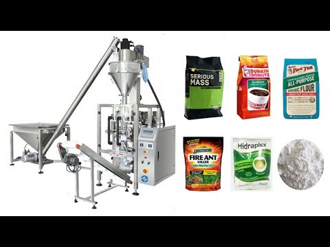 VFFS Vertical Form Fill Seal Automatic Packaging Machine Video