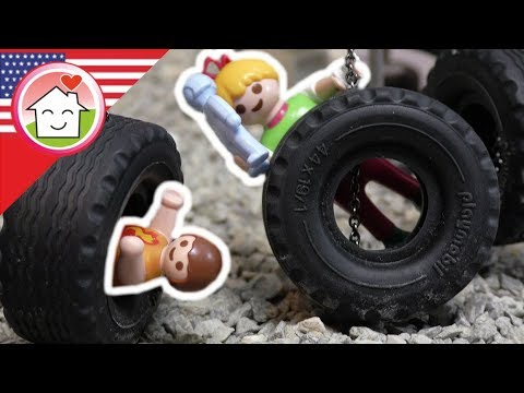 Playmobil film english At the Playground - Hauser Family - kids cartoons