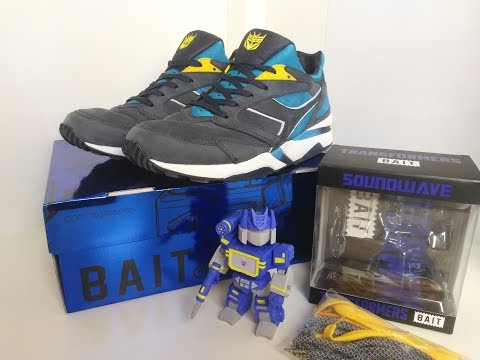 Transformers BAIT Soundwave Diadora Trainers
