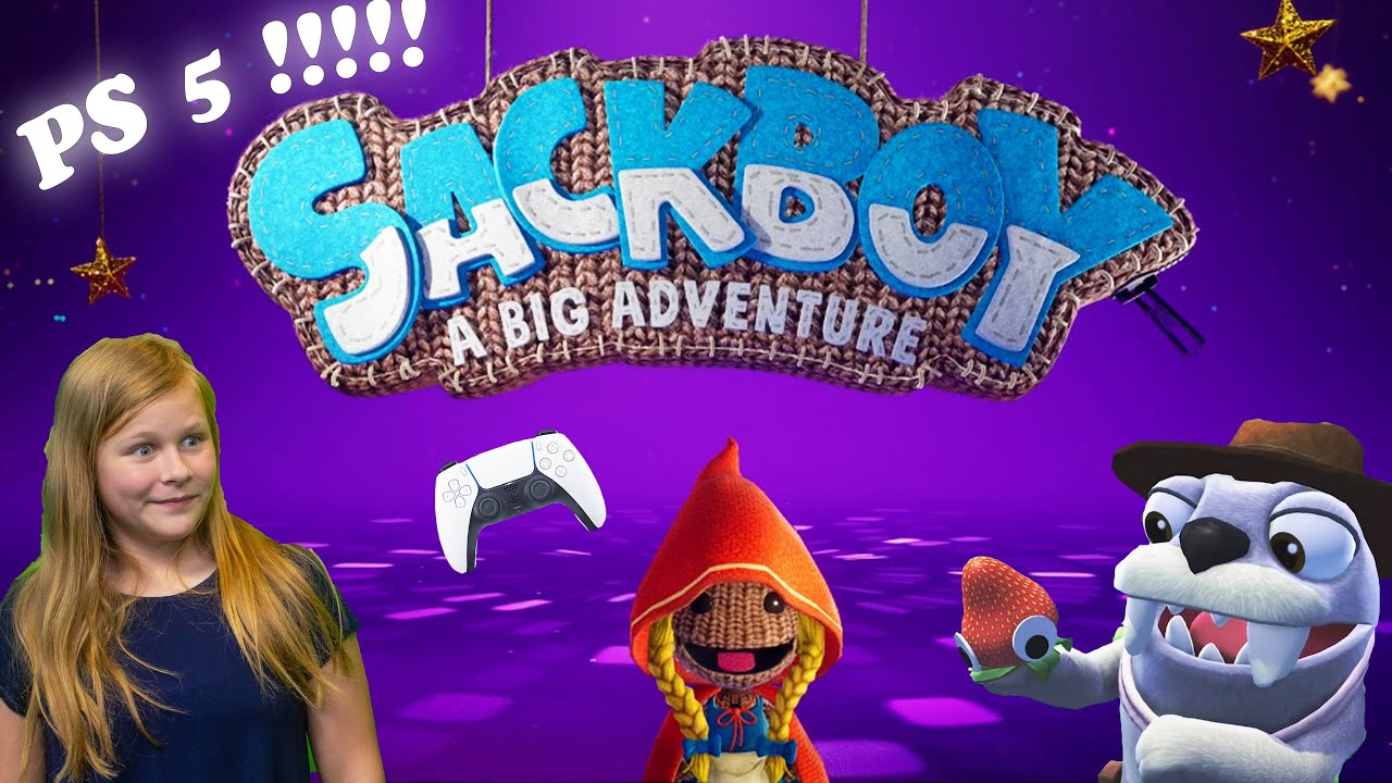 Assistant Plays Sackboy and Bugsnax on Playstation 5
