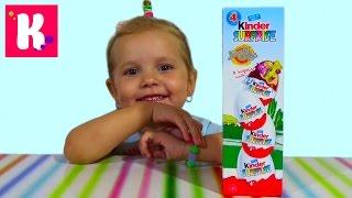 Киндер Сюрприз набор Луни Тюнз Киндер распаковка игрушек Looney Tunes Kinder Surprise toys