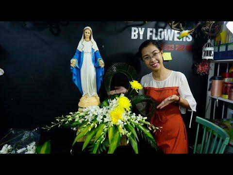 cắm hoa 3 bông tại kienthuccuatoi.com