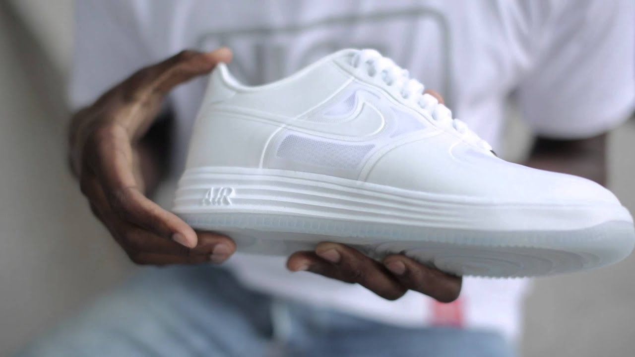 nike air force lunar white