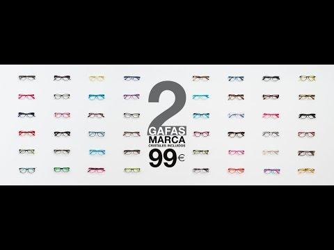 OPTICALIA - 2 Gafas de Marca por 99 Euros - Con Cristales Incluidos (Sept.2015)