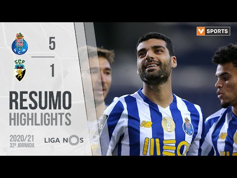 FC Porto SC Farense Goals And Highlights