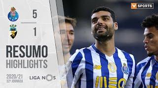 Highlights   Resumo: FC Porto 5-1 SC Farense (Liga 20/21 #32)