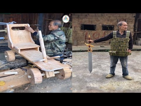 11 Creative ideas craft useful bamboo & wood