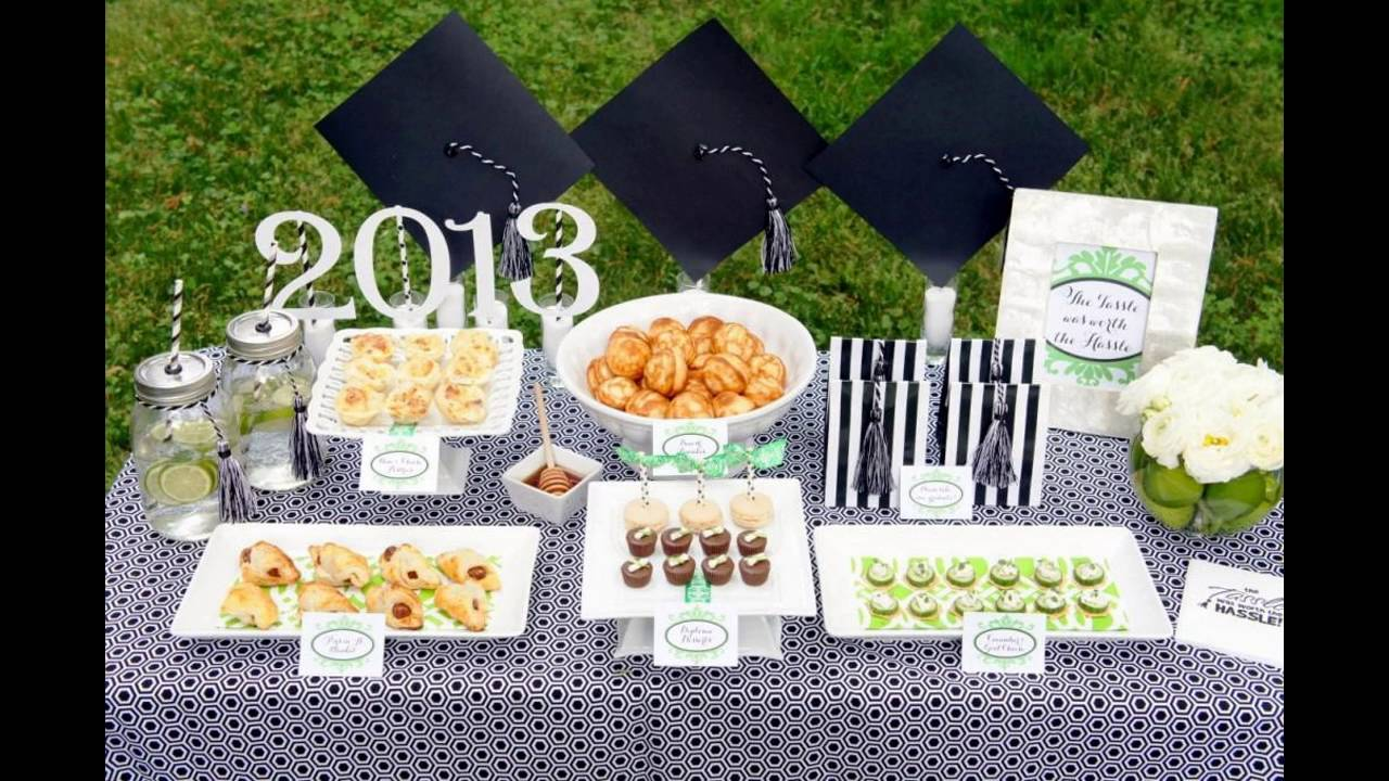 Outdoor Graduation Party Themed Decorating Ideas