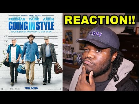 Going In Style Trailer (Morgan Freeman Movie) : REACTION!!