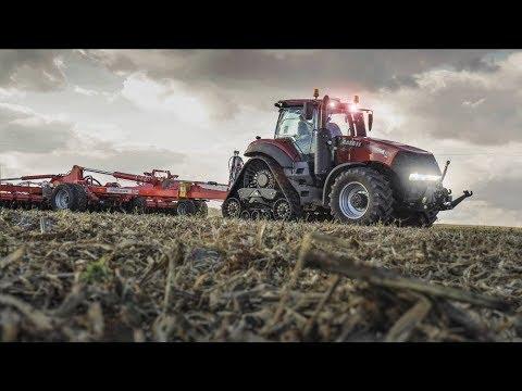 XL Déchaumage 2018 in France   NEW CASE IH MAGNUM 380 ROWTRACK & PÖTTINGER TERRADISC 10001T