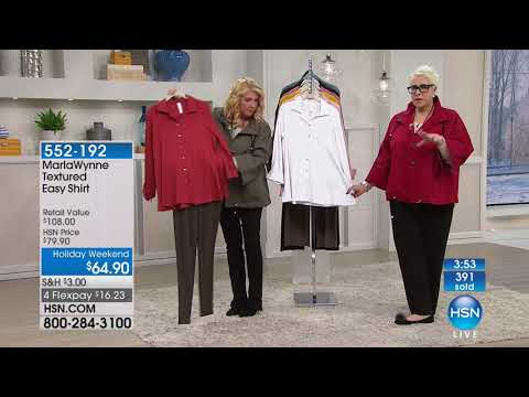 HSN | MarlaWynne Fashions 01. http://bit.ly/2WCYBow