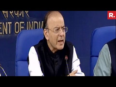Union Minister Arun Jaitley Briefs Media After Cabinet Meeting