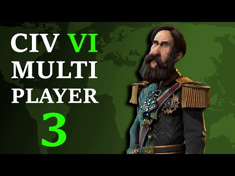 Civilization 6: Multiplayer Brazil - Episode 3 - Assimilating the Greek