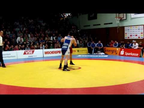 Gr.röm. 84kg Jan Fischer  Dominique Engel 3:0  PS 1:0 1:0 2:0