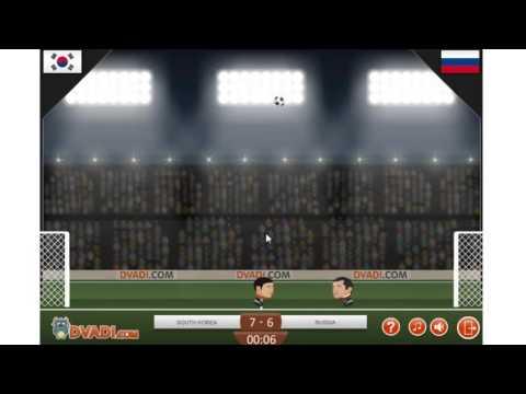 FOOTBALL HEADS: 2014 WORLD CUP(Y8) -เหม่งสะท้านบอล (เห้ยู้วเห้ๆ) #1