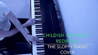 Childish Gambino - Redbone   Piano Cover + Sheet Music