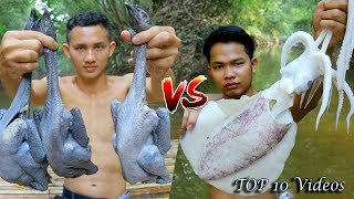 Top 10 Videos Master Chef cooking the best in forest