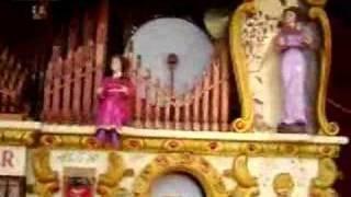 Luftwaffe March Played on Organ at Dorset Steam Fair