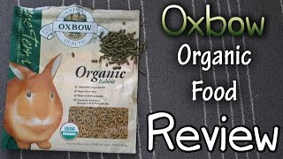 Oxbow Organic Rabbit Food Review